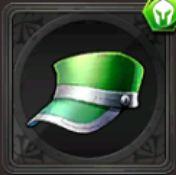 厚手の帽子