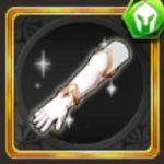 純白の騎士手甲