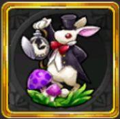 幸運のウサギの置物