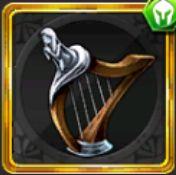 女神のハープ
