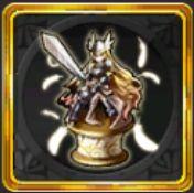 聖騎士の乙女像