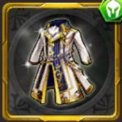 純白の騎士礼装