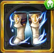 蒼炎騎士の白軍靴