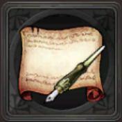 魔道士の万年筆図案