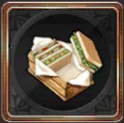 凛のサンドイッチ